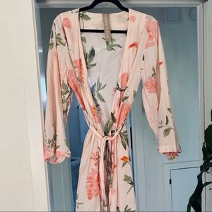 Plum Pretty Sugar Persimmons Bridesmaid Robe